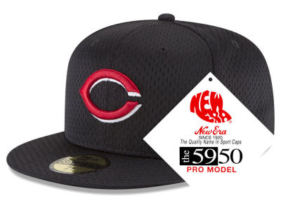 Cincinnati Reds New Era MLB Retro Classic Batting Practice 59FIFTY Cap