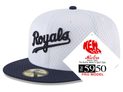 Kansas City Royals New Era MLB Retro Classic Batting Practice 59FIFTY Cap