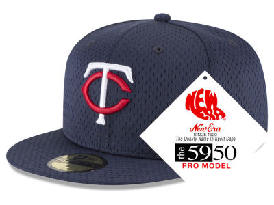 Minnesota Twins New Era MLB Retro Classic Batting Practice 59FIFTY Cap