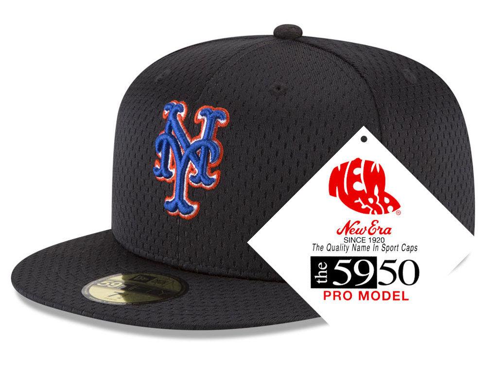 bd0d7a86b7f New York Mets New Era MLB Retro Classic Batting Practice 59FIFTY Cap ...