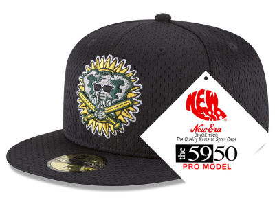 Oakland Athletics New Era MLB Retro Classic Batting Practice 59FIFTY Cap
