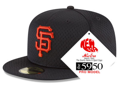 San Francisco Giants New Era MLB Retro Classic Batting Practice 59FIFTY Cap