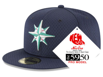 Seattle Mariners New Era MLB Retro Classic Batting Practice 59FIFTY Cap