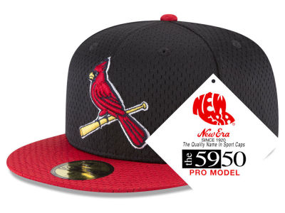 St. Louis Cardinals New Era MLB Retro Classic Batting Practice 59FIFTY Cap