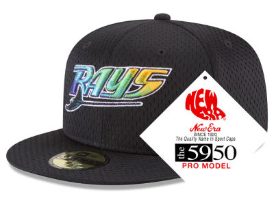 Tampa Bay Rays New Era MLB Retro Classic Batting Practice 59FIFTY Cap