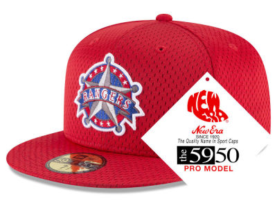 Texas Rangers New Era MLB Retro Classic Batting Practice 59FIFTY Cap