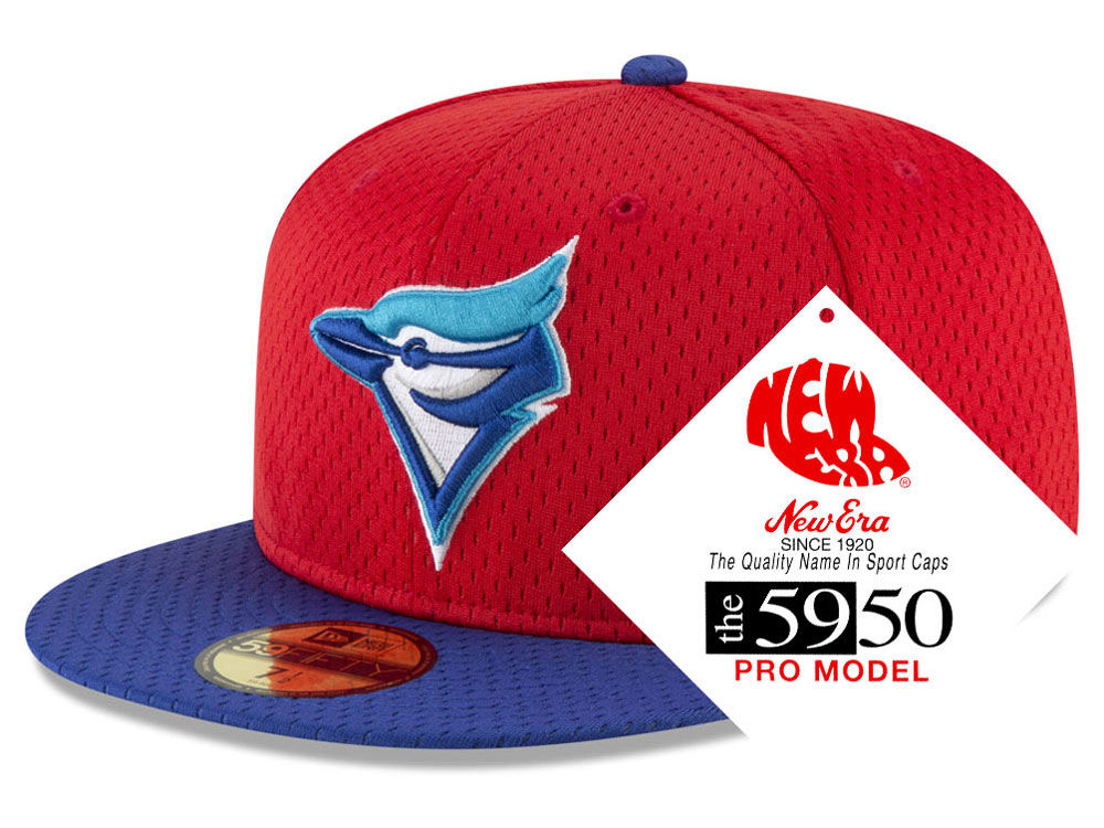 Toronto Blue Jays New Era MLB Retro Classic Batting Practice 59FIFTY Cap  4032dfbf2fc7
