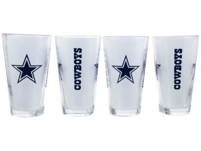 Dallas Cowboys 4 Pack Pint Set
