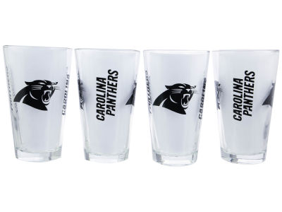 Carolina Panthers 4 Pack Pint Set