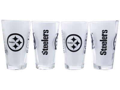 Pittsburgh Steelers 4 Pack Pint Set