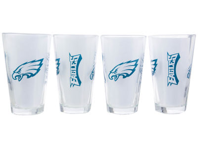 Philadelphia Eagles 4 Pack Pint Set