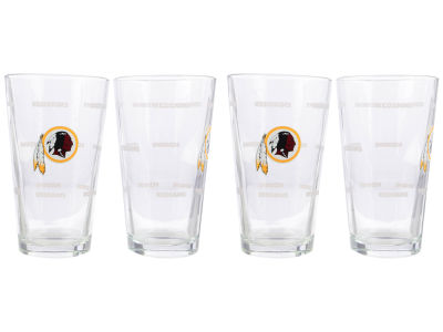 Washington Redskins 4 Pack Pint Set