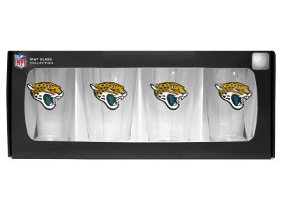 Jacksonville Jaguars 4 Pack Pint Set