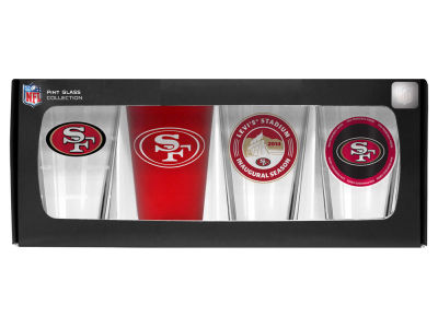 San Francisco 49ers 4 Pack Pint Set
