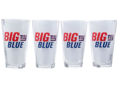 New York Giants 4 Pack Pint Set