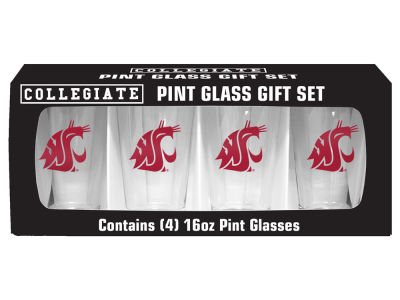 Washington State Cougars 4 Pack Pint Set