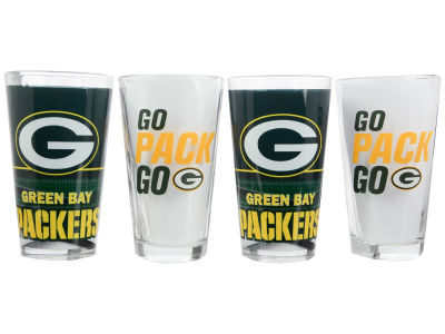 Green Bay Packers 4 Pack Pint Set