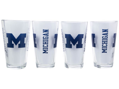 Michigan Wolverines 4 Pack Pint Set