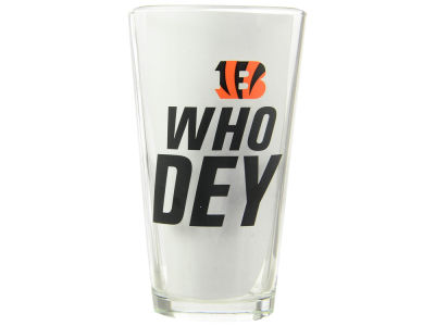 Cincinnati Bengals 4 Pack Pint Set