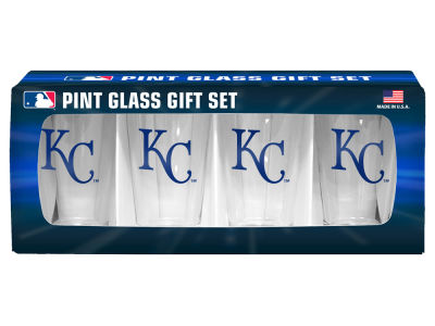 Kansas City Royals 4 Pack Pint Set