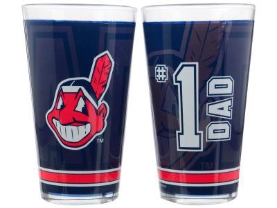 Cleveland Indians 4 Pack Pint Set
