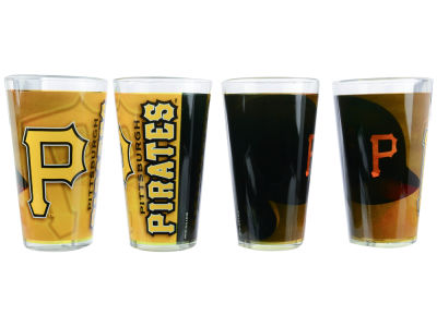 Pittsburgh Pirates 4 Pack Pint Set