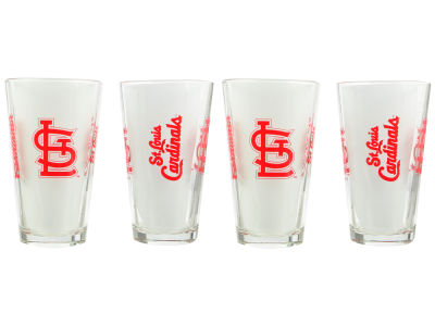 St. Louis Cardinals 4 Pack Pint Set