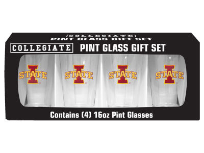Iowa State Cyclones 4 Pack Pint Set