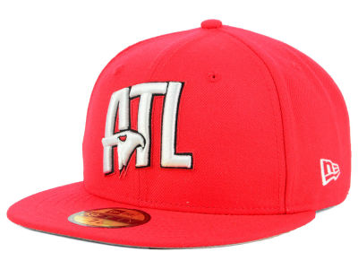 Atlanta Hawks New Era NBA Combo Logo 59FIFTY Cap