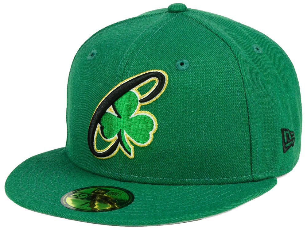 Boston Celtics New Era NBA Combo Logo 59FIFTY Cap  5944213f2865