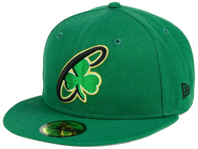 Boston Celtics New Era NBA Combo Logo 59FIFTY Cap