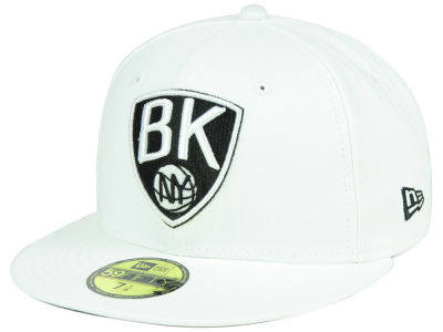 Brooklyn Nets New Era NBA Combo Logo 59FIFTY Cap