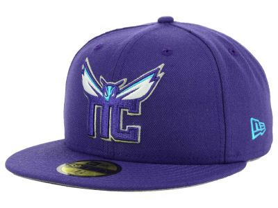 Charlotte Hornets New Era NBA Combo Logo 59FIFTY Cap