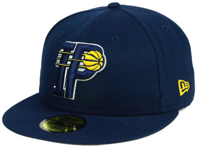 Indiana Pacers New Era NBA Combo Logo 59FIFTY Cap