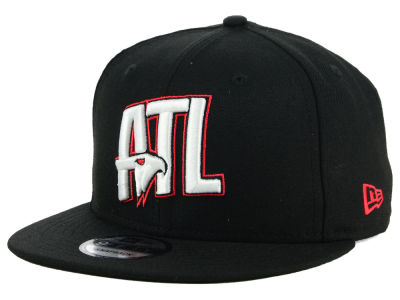 Atlanta Hawks New Era NBA Combo Logo 9FIFTY Snapback Cap