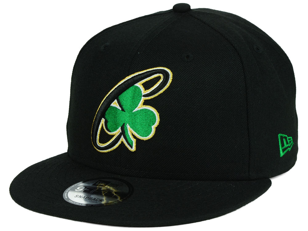 154c867a1e1 Boston Celtics New Era NBA Combo Logo 9FIFTY Snapback Cap