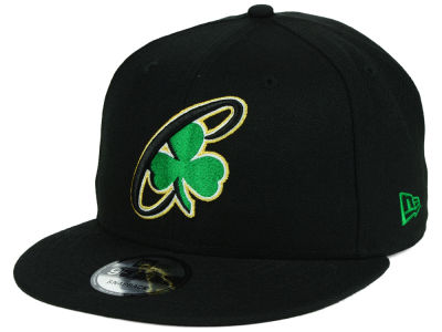 Boston Celtics New Era NBA Combo Logo 9FIFTY Snapback Cap