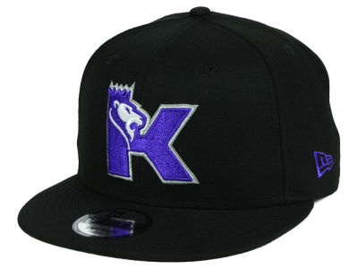 Sacramento Kings New Era NBA Combo Logo 9FIFTY Snapback Cap