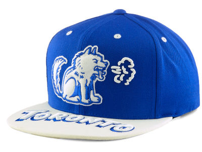 Toronto Huskies Mitchell & Ness Toronto Color Custom Snapback Cap