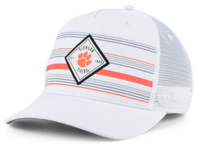 0439700973d2f ... new zealand clemson tigers top of the world ncaa top route trucker cap  ade56 37cb5