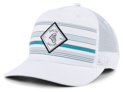 Coastal Carolina Chanticleers Top of the World NCAA Top Route Trucker Cap