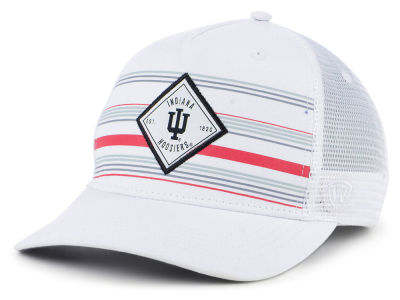 Indiana Hoosiers Top of the World NCAA Top Route Trucker Cap