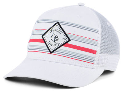 cheap for discount 4eead b1ee0 Louisville Cardinals Top of the World NCAA Top Route Trucker Cap