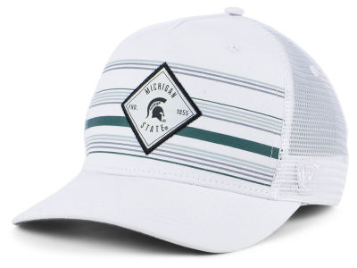 Michigan State Spartans Top of the World NCAA Top Route Trucker Cap
