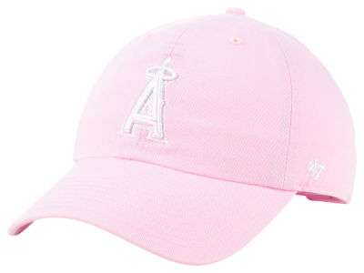 Los Angeles Angels '47 MLB Pink '47 CLEAN UP Cap