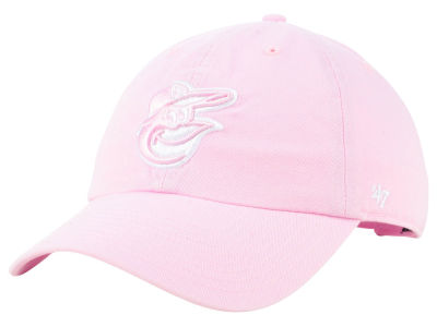 Baltimore Orioles '47 MLB Pink '47 CLEAN UP Cap