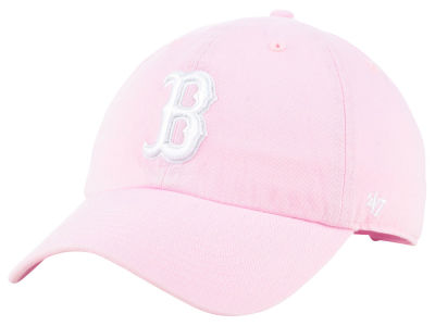 Boston Red Sox '47 MLB Pink '47 CLEAN UP Cap