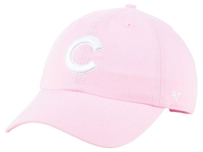 Chicago Cubs '47 MLB Pink '47 CLEAN UP Cap
