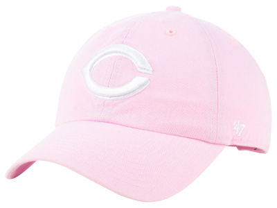 Cincinnati Reds '47 MLB Pink '47 CLEAN UP Cap