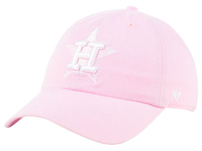 Houston Astros '47 MLB Pink '47 CLEAN UP Cap